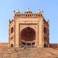 Square shot of Fatehpur Sikri fortress