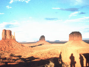 Monument valley - zonsondergang