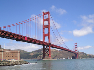 San Fransisco - Golden Gate bridge