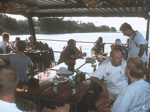 Chobe National Park – sunset cruise