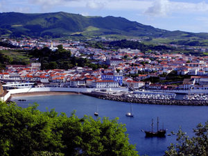 Terceira - Angra do Heroísmo - baai
