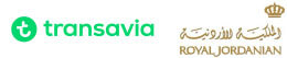Transavia/Royal Jordanian combinatie