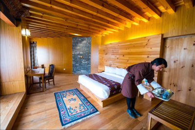 Kamer Mountain Resort Jakar Bhutan Djoser