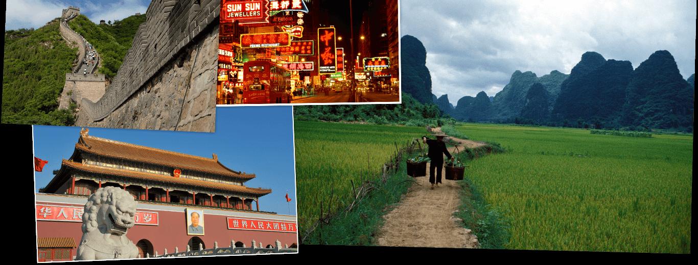 Aansluiting China