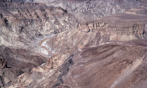 Fish River Canyon - uitzicht