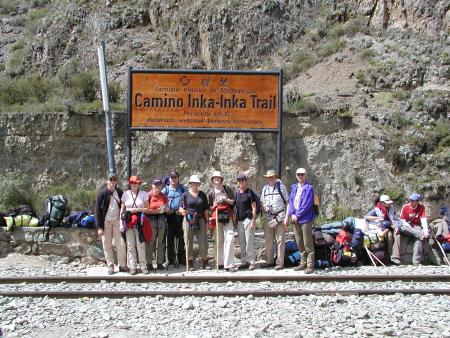 Start Inca Trail