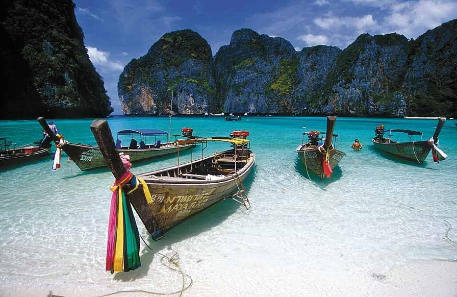 Krabi Thailand Djoser Strand