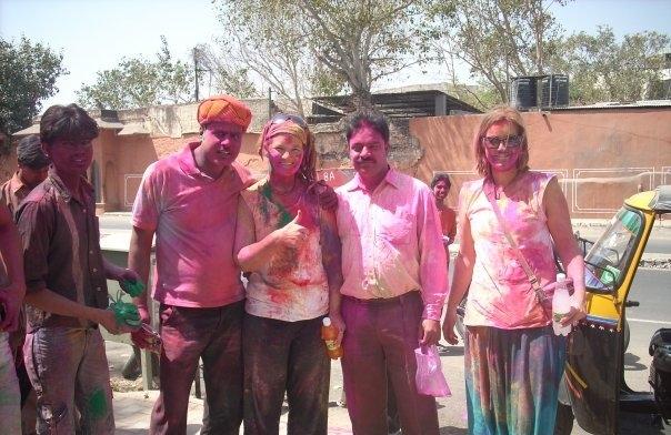 Holi Festival Jaipur India Djoser