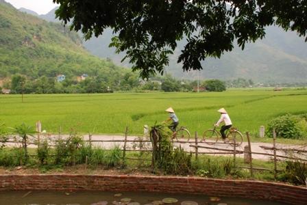 Unterwegs mit dem Fahrrad, Vietnam