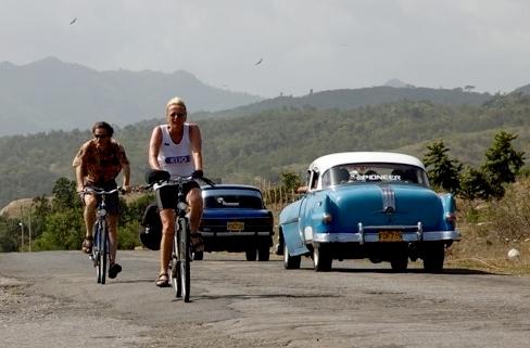 Fietsen Cuba Uitzicht Djoser