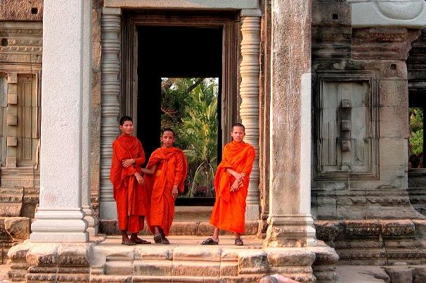 Angor Wat, Kambodscha Fahrradreise
