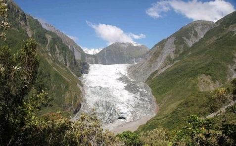 Gletscher auf der Südinsel Neuseeland