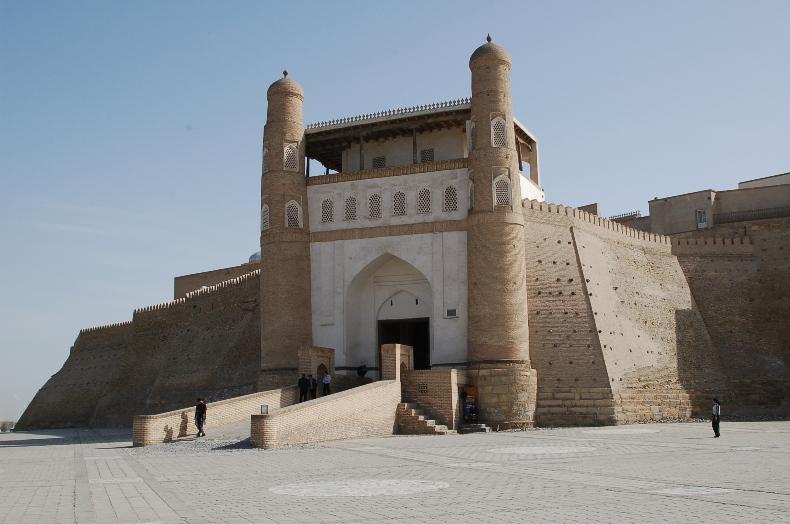 Stadttor von Buchara, Usbekistan