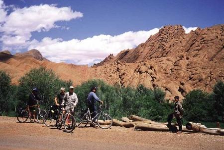 Sfeerimpressie Fietsvakantie Marokko