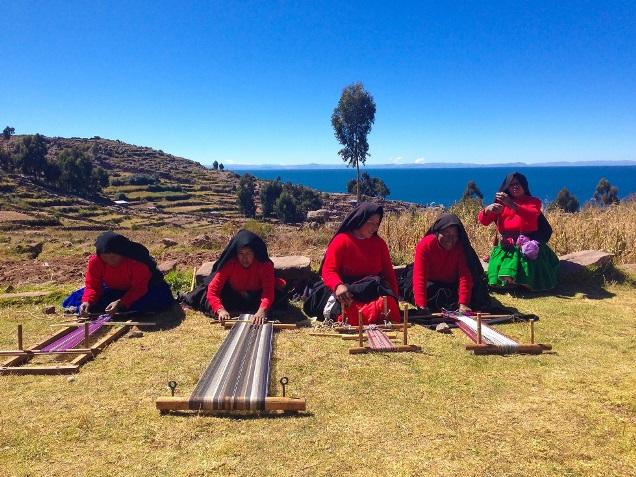 Titicaca meer Puno Peru Djoser