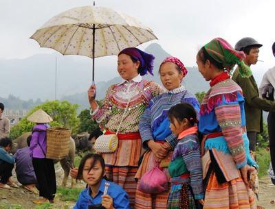 Bergvölker in Sapa