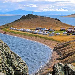 Jurtencamp am Tsagaan Nuur See